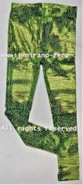 Celine floral legging  groene slangenprint  (7pcs)