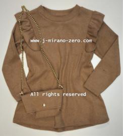 FRKU311 jurk CAMEL (6pcs)