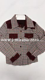 FRP41 bordeaux  blouse (6pcs) nog enkele pakketten