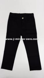 ZM3387 Black (7pcs) chino slimfit