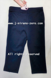 ZM3565-1 3/4 legging NAVY (6pcs)