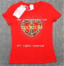 ZM5231 shirt ROOD  (7pcs)