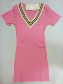 FRNS9007 jurk pink(6pcs) nog enkele pakketten