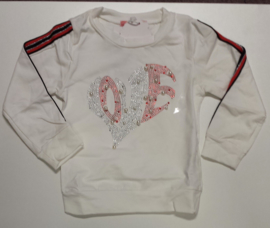 FRKS8178 Sweater Ivoor (6pcs)