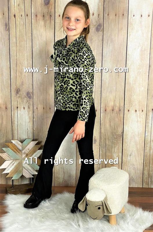 ZM5097-1 shirt ARMY-GREEN  (6pcs)