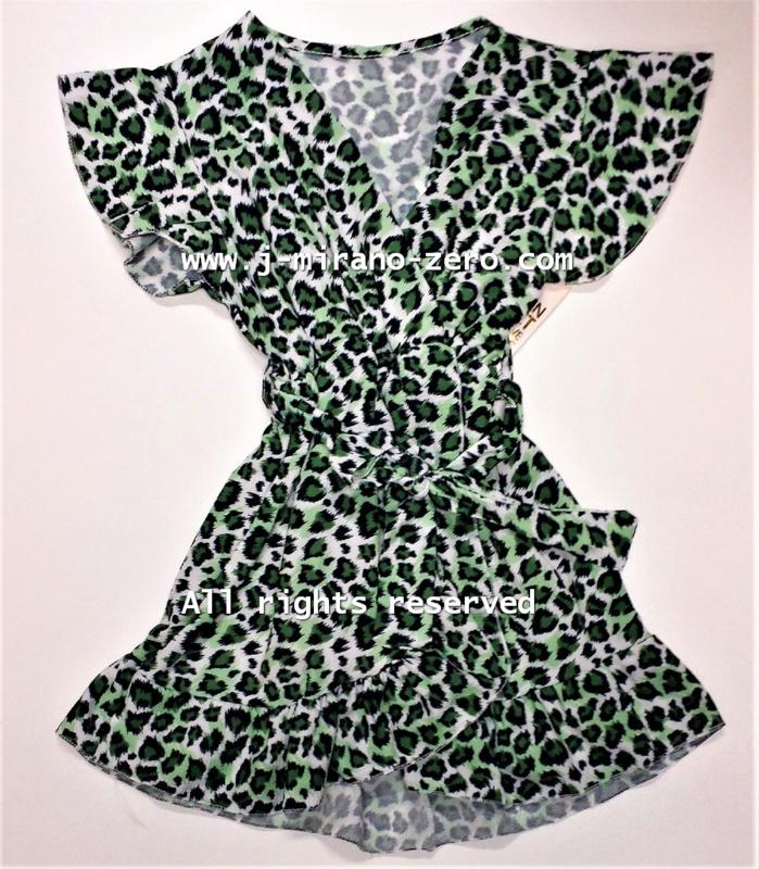 FRart3909 panter-green (6pcs)weer binnen