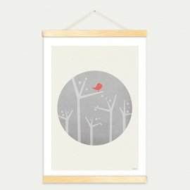Moon & Bird