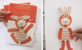 MOW Objetos Paper animal Nicolas rabbit