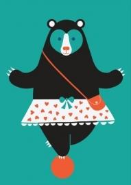 Mama Bear danseres