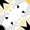 Origami vouwblok mosterd