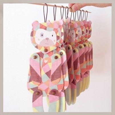 MOW Objetos Paper animal Luisa bear
