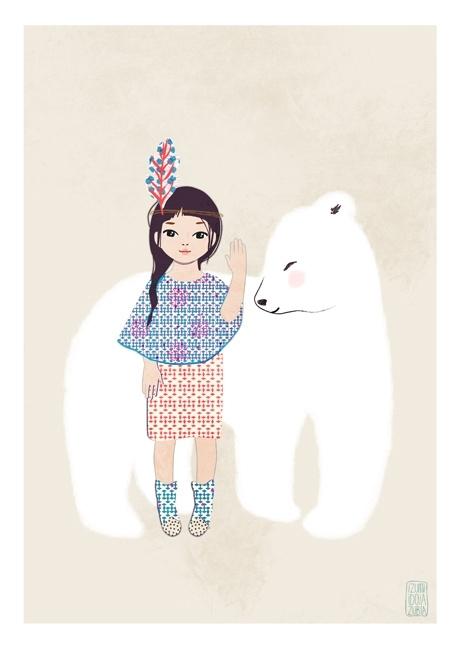 Hug Osito Girl