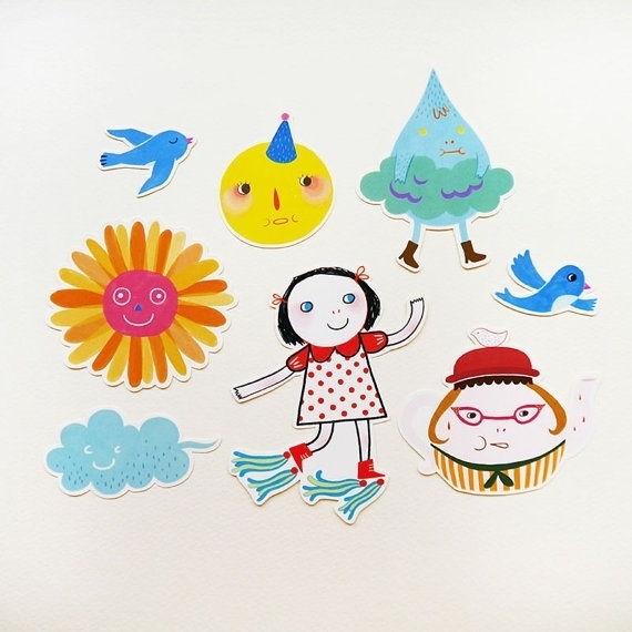 Minifanfan Sticker set Collection 2