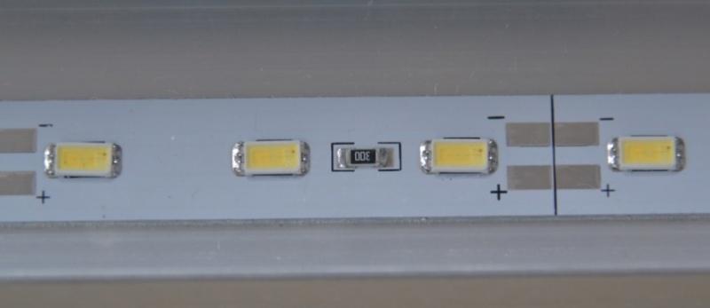 52 cm LED balk, neutraal wit 4500k 9.6 watt watervast