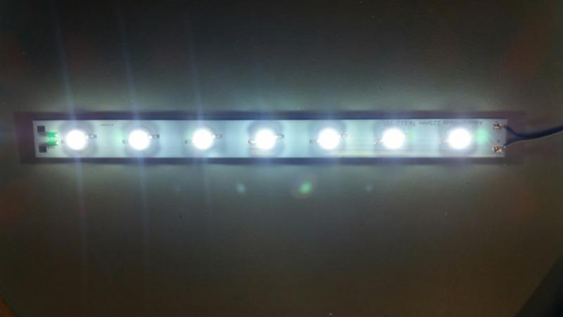Wit 4500K  LED strip 7.2 watt