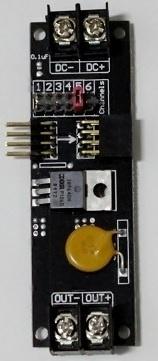 Kanaal 5-6 driver module voor maanlicht of ventilator