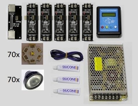 500L Cree LED kit