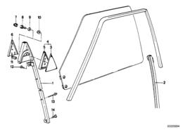 Blindplaat chrome rechts (3)