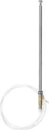 Antenne met chrome tip (Nieuw)