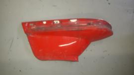 Bumper deel links staal tot 05-1982