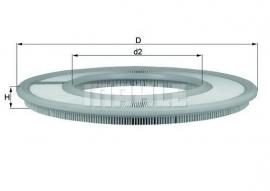 Luchtfilter LX258 tbv Solex 4A1 (Nieuw)