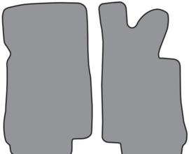 Mattenset standaard, zwart (Repro, Nieuw)