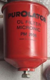 Aufklebersatz für M30 Ölfilter gehause (Purolator PM 2106) (Repro, Neu)