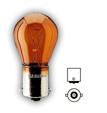 Lamp P 12V-21W oranje (Nieuw)