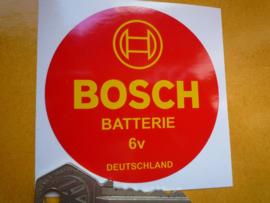 Bosch 6V Accu D=75mm (Nieuw)