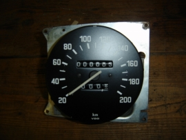 Kilometerteller tot 200 km/u (revisie)
