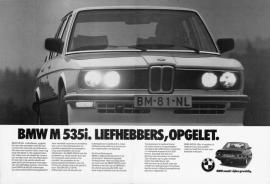 E12 M535i Nederland