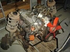 Motorblok M30B28 (enkele carburateur)