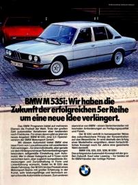 E12 M535i Duitsland