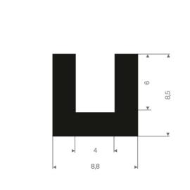 Afdichting achterlicht lens L/R, L=125cm (Repro, Nieuw)