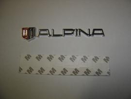 """""""Alpina"""" embleem zelfklevend 135x23 mm (Nieuw, Repro)"""