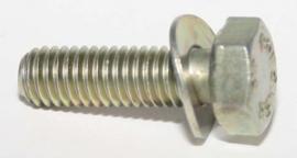 Tapbout M6x20 met ring (Nieuw verzinkt)