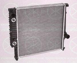 Radiateur 438x432 automaat met airco (320i M20, 325i M20)