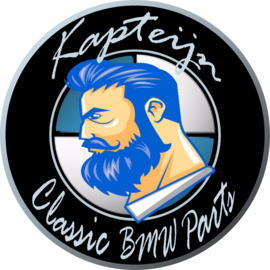 """Classic BMW Parts"" sticker d=100 mm (Nieuw)"