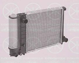 Radiateur 380x327 handgeschakeld met airco (316i M40, 318i M40, 318is M42)