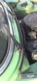 Rubber motorkap achterzijde (onder voorruit) type 1 (Repro, nieuw)