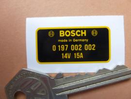 Bosch Dynamo 18x36mm (Nieuw)