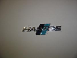 """""""Hartge"""" embleem zelfklevend 105x30 mm (Nieuw, Repro)"""