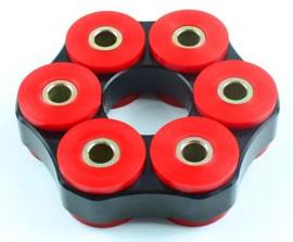 Hardyschijf 110x6x28mm STC=78mm / D=10mm Heavy Duty (Nieuw)
