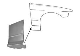 Reparatur Satz Seitenwanden vorne Sedan/Touring 1990-2000 (Repro, Neu)