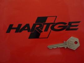 """Hartge"" sticker 45x150 mm (Nieuw)"