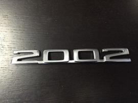 """""""2002"""" achterzijde vanaf 1973 (Nieuw)"""