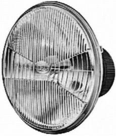 Koplamp Hella dimlicht (low beam) LHD (Nieuw)