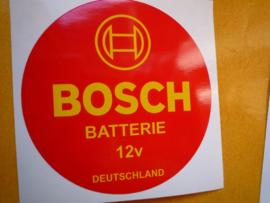 Bosch 12V Accu D=75mm rood (Nieuw)