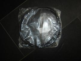 Raampees zwart tbv voor- of achterruit (Nieuw)