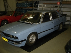 BMW E12 520/6 1978 5-bak (Gesloopt)